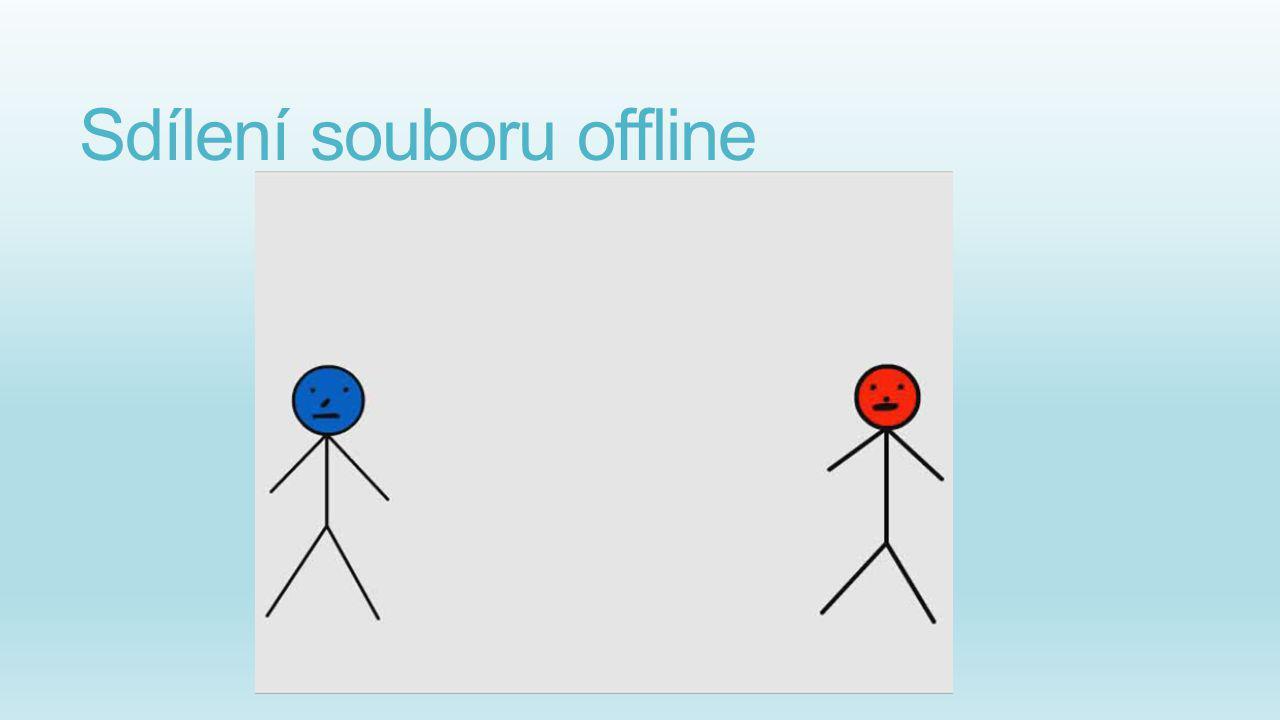 Sdílení souboru offline