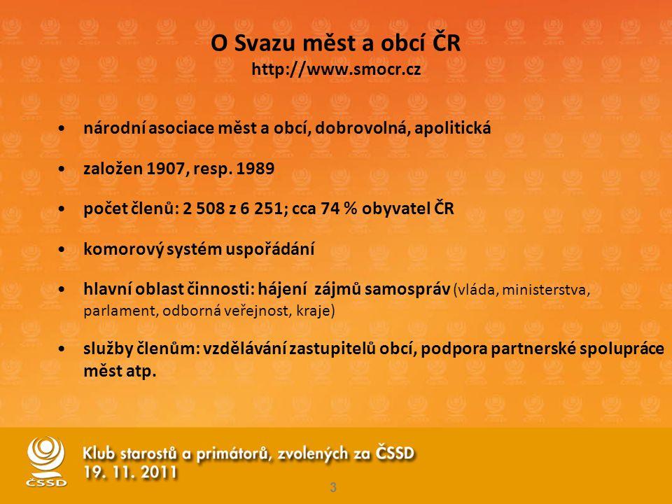 O Svazu měst a obcí ČR http://www.smocr.cz