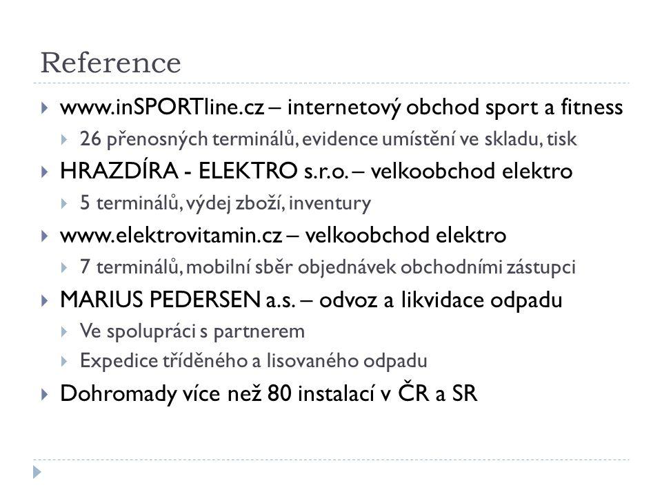 Reference www.inSPORTline.cz – internetový obchod sport a fitness
