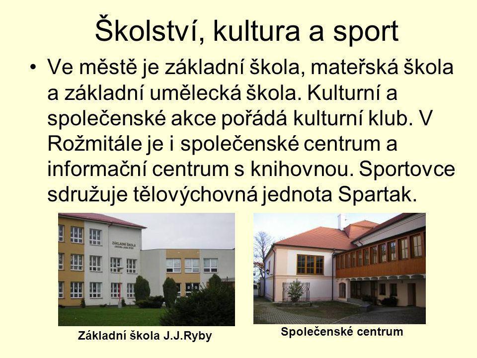 Školství, kultura a sport
