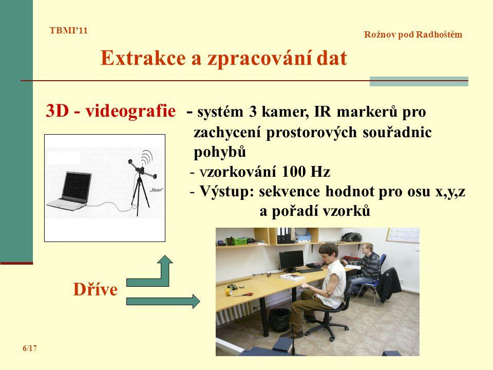 Extrakce a zpracování dat