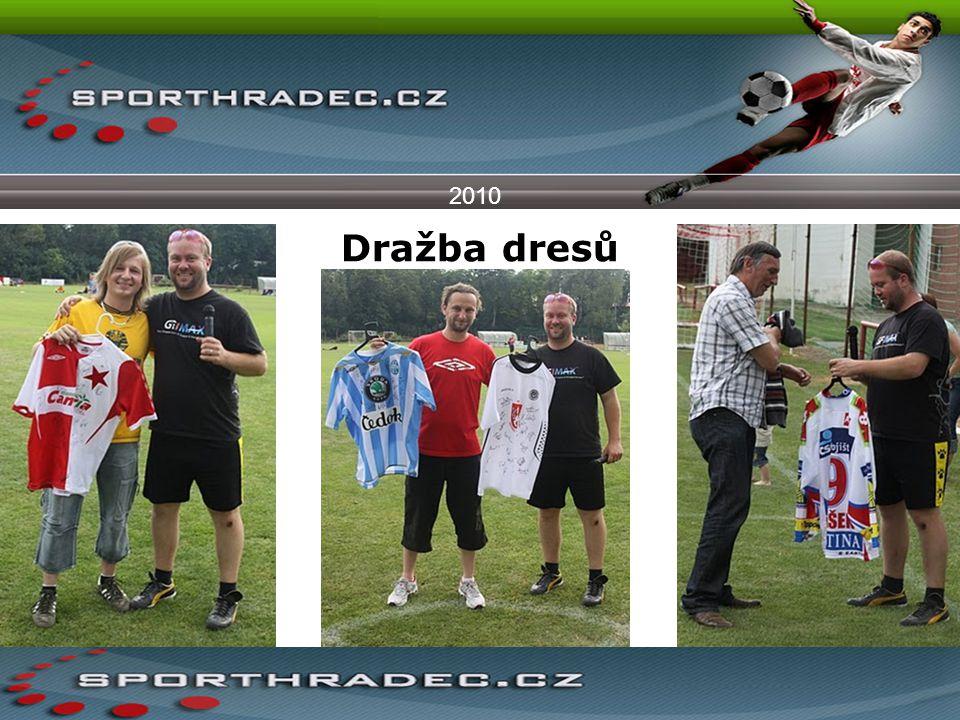 2010 Dražba dresů