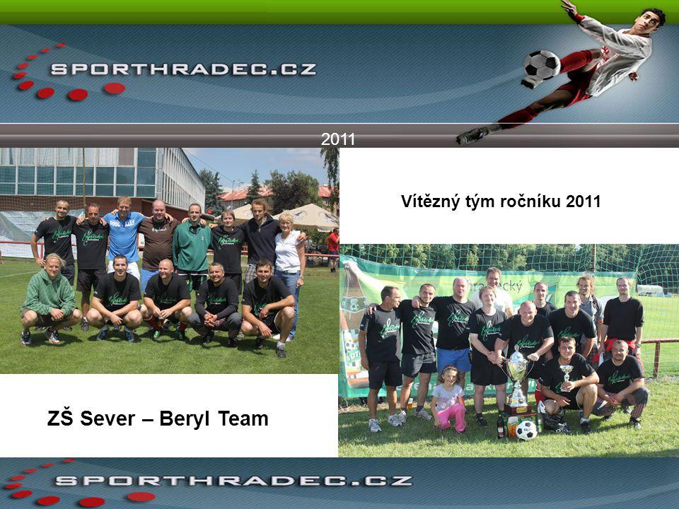 2011 Vítězný tým ročníku 2011 ZŠ Sever – Beryl Team