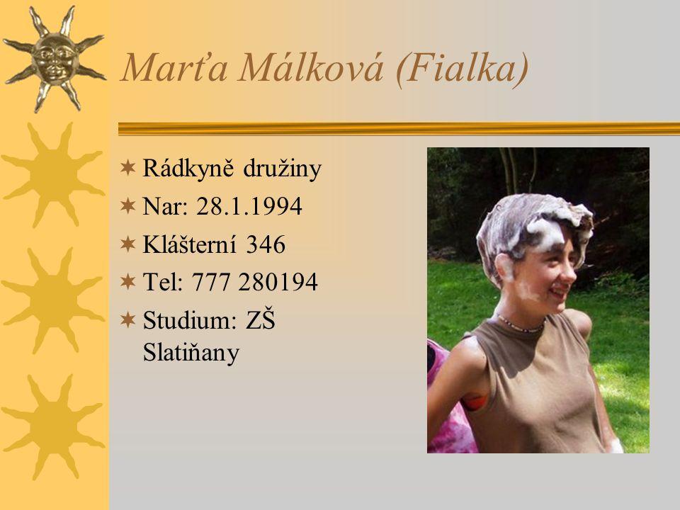 Marťa Málková (Fialka)