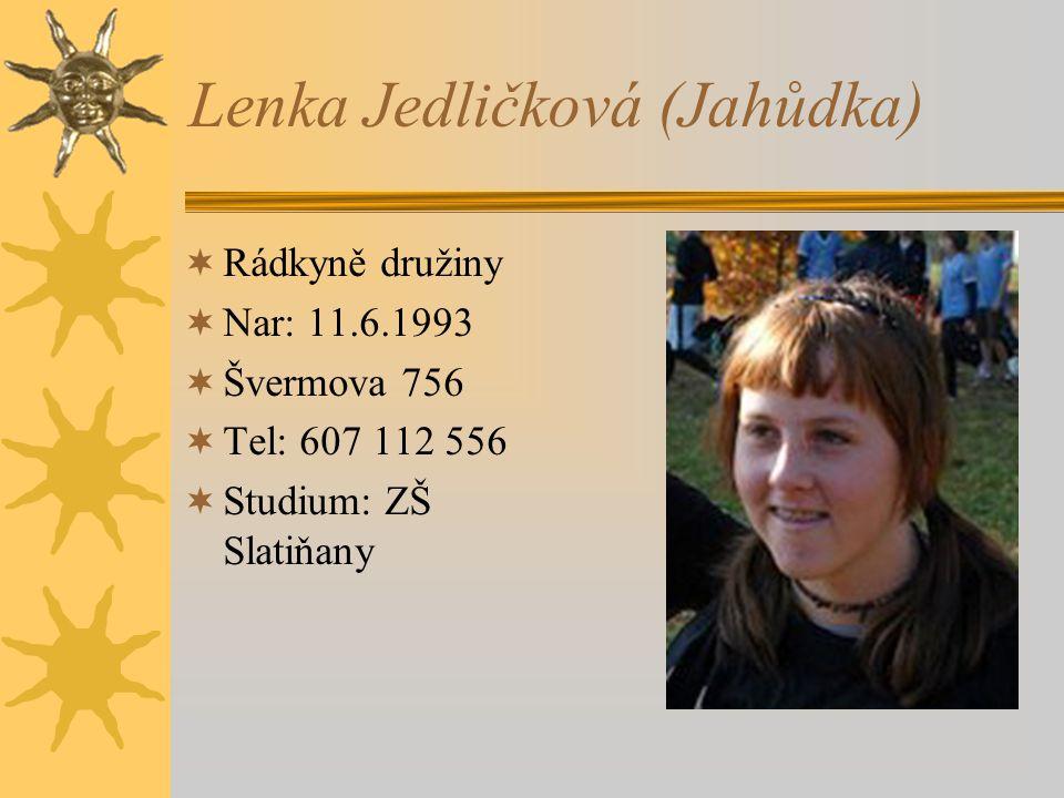 Lenka Jedličková (Jahůdka)