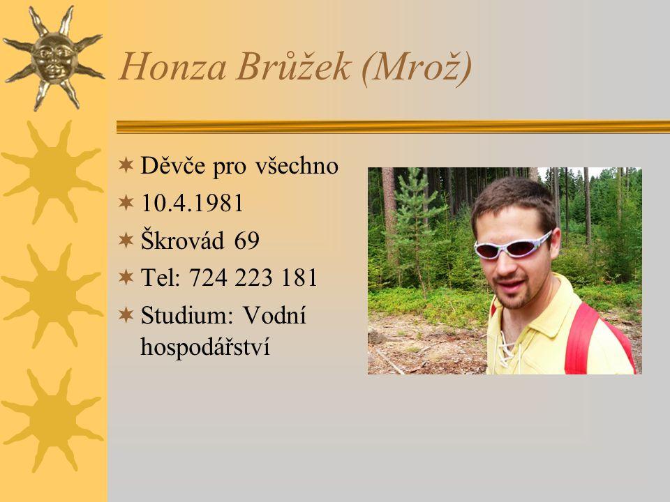 Honza Brůžek (Mrož) Děvče pro všechno 10.4.1981 Škrovád 69