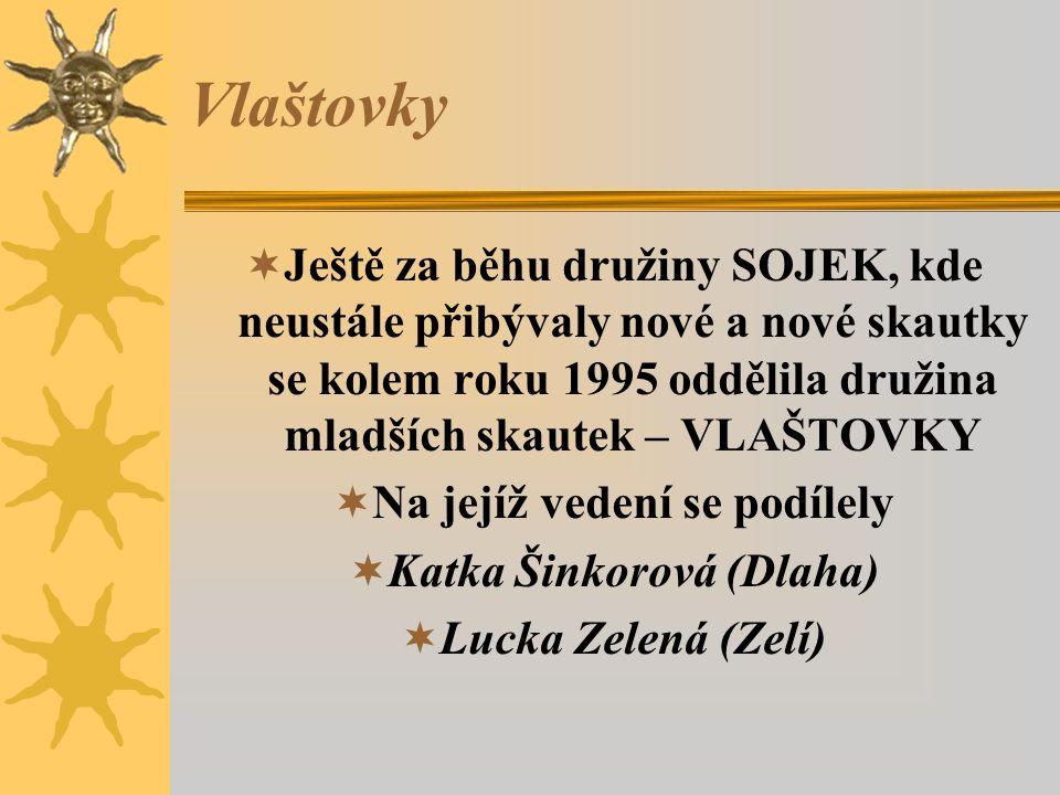Na jejíž vedení se podílely Katka Šinkorová (Dlaha)