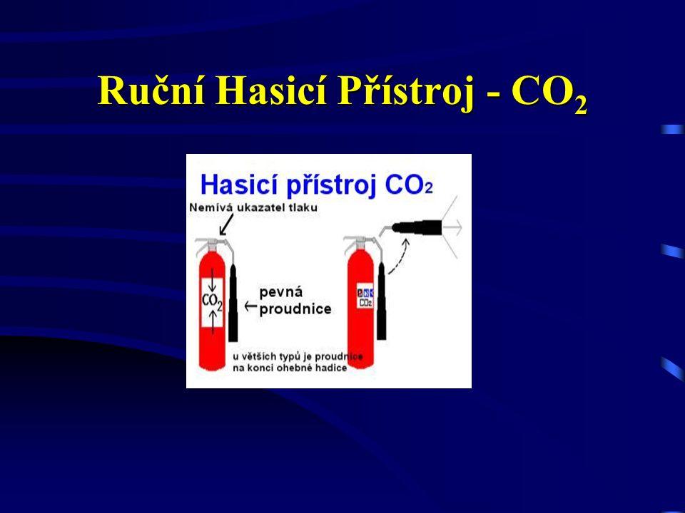 Ruční Hasicí Přístroj - CO2