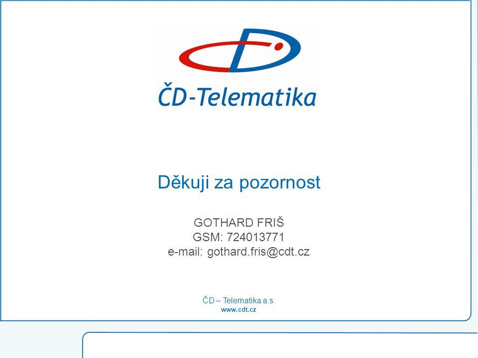 e-mail: gothard.fris@cdt.cz