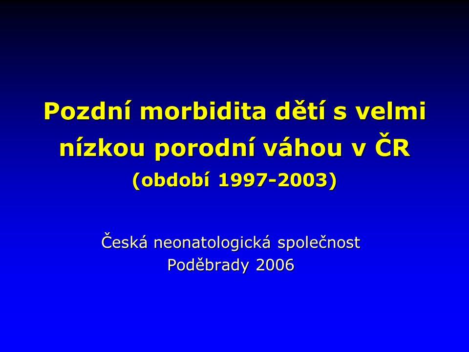 Česká neonatologická společnost Poděbrady 2006