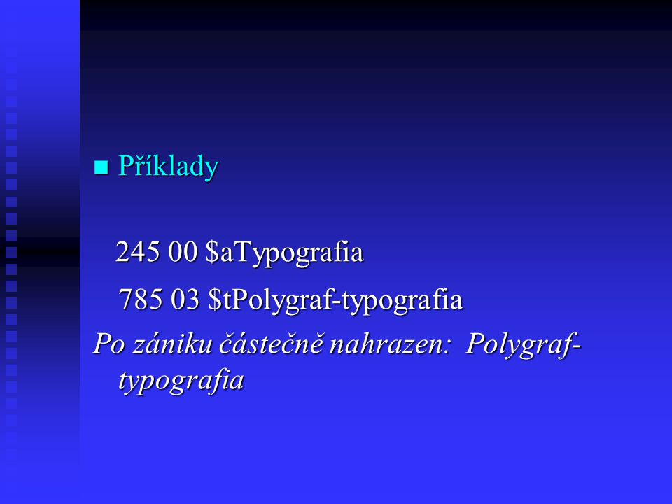 785 03 $tPolygraf-typografia