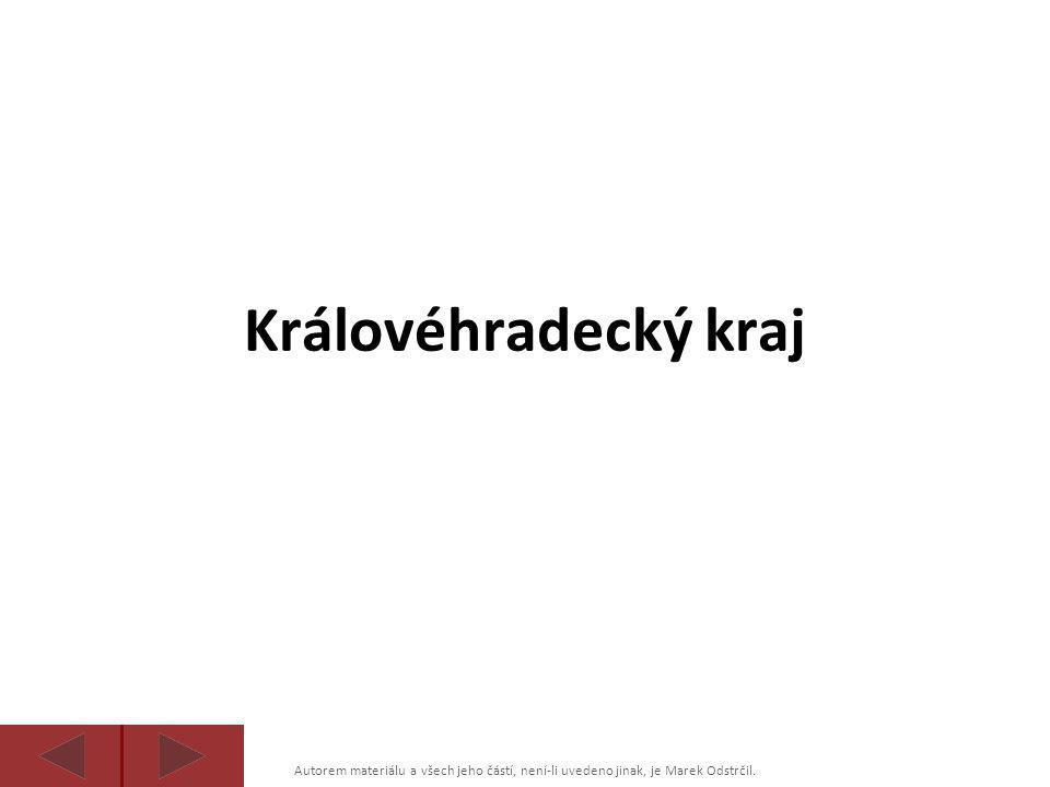 Královéhradecký kraj Autorem materiálu a všech jeho částí, není-li uvedeno jinak, je Marek Odstrčil.