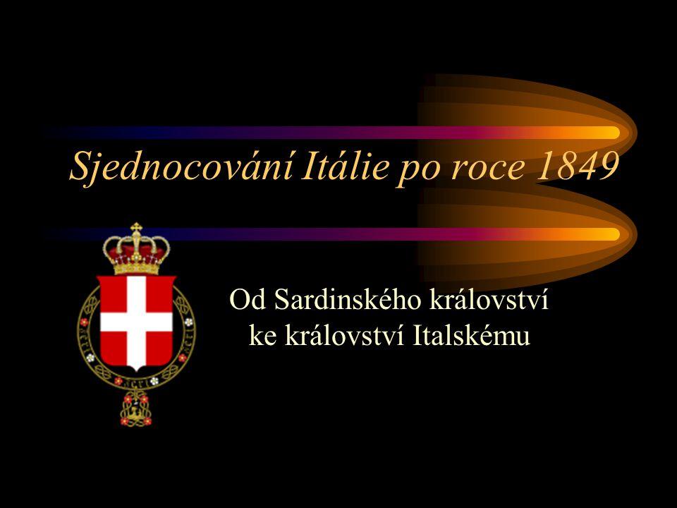 Sjednocování Itálie po roce 1849