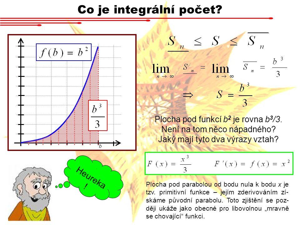 Co je integrální počet Heureka!