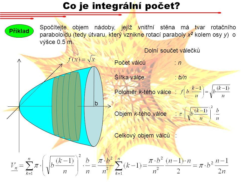 Co je integrální počet
