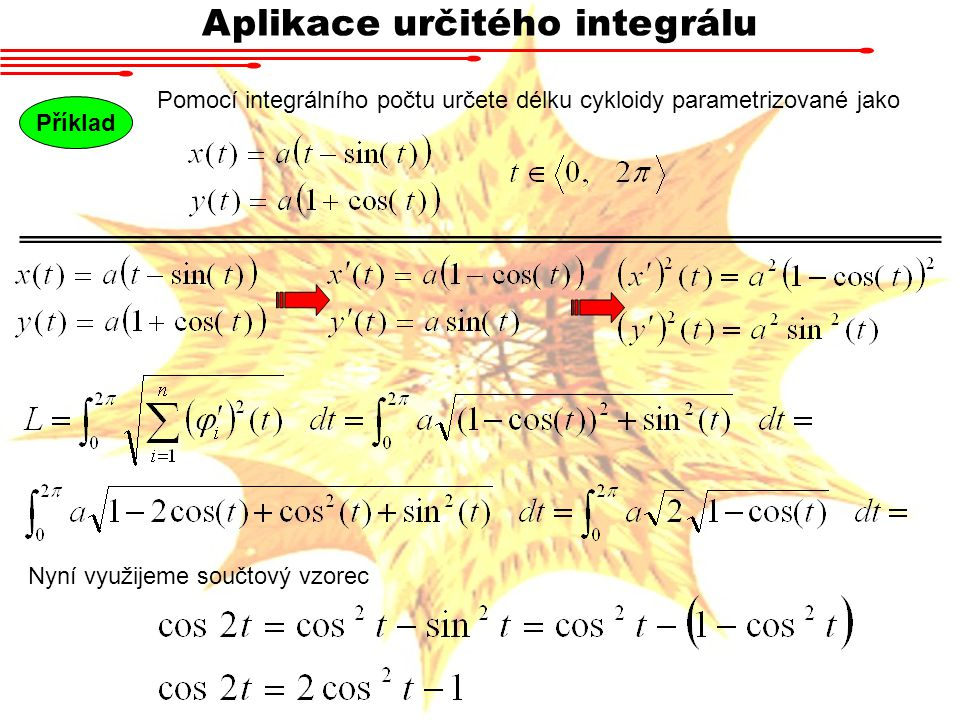 Aplikace určitého integrálu