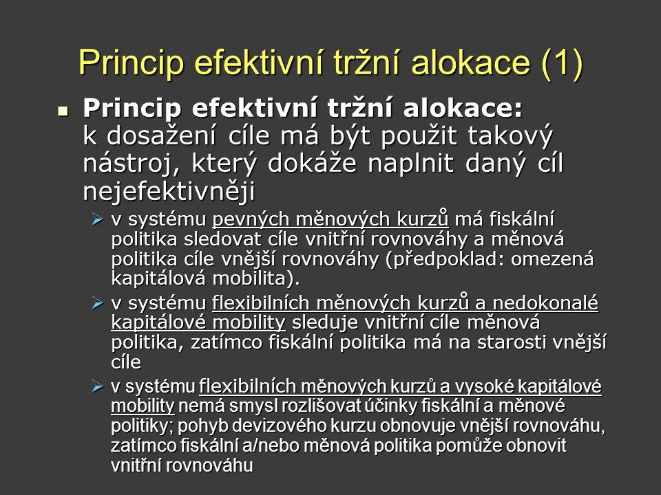 Princip efektivní tržní alokace (1)
