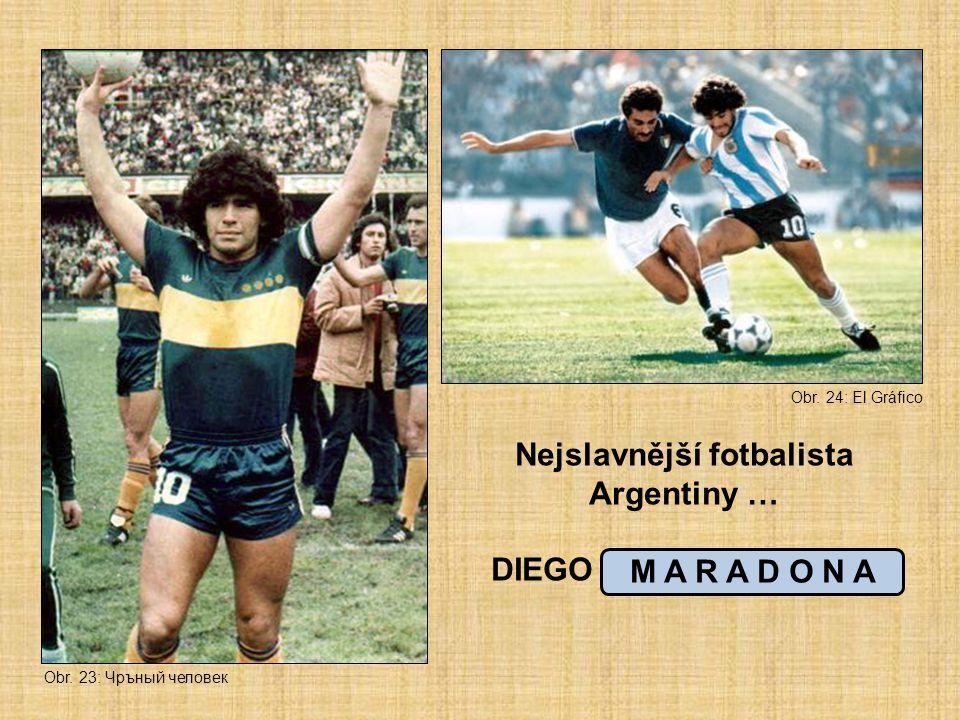 Nejslavnější fotbalista