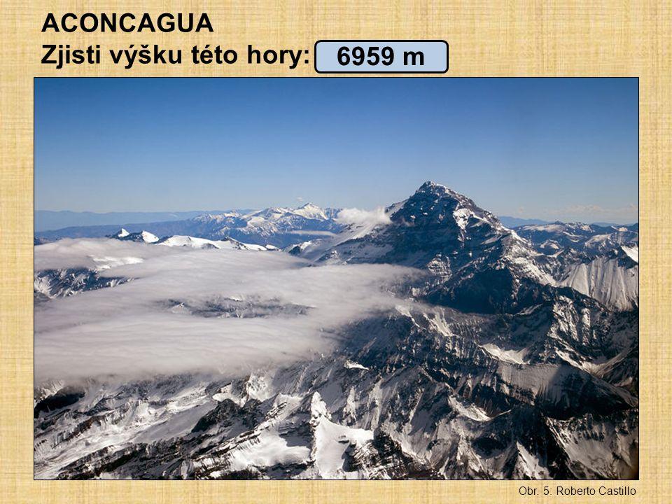 Zjisti výšku této hory: 6959 m