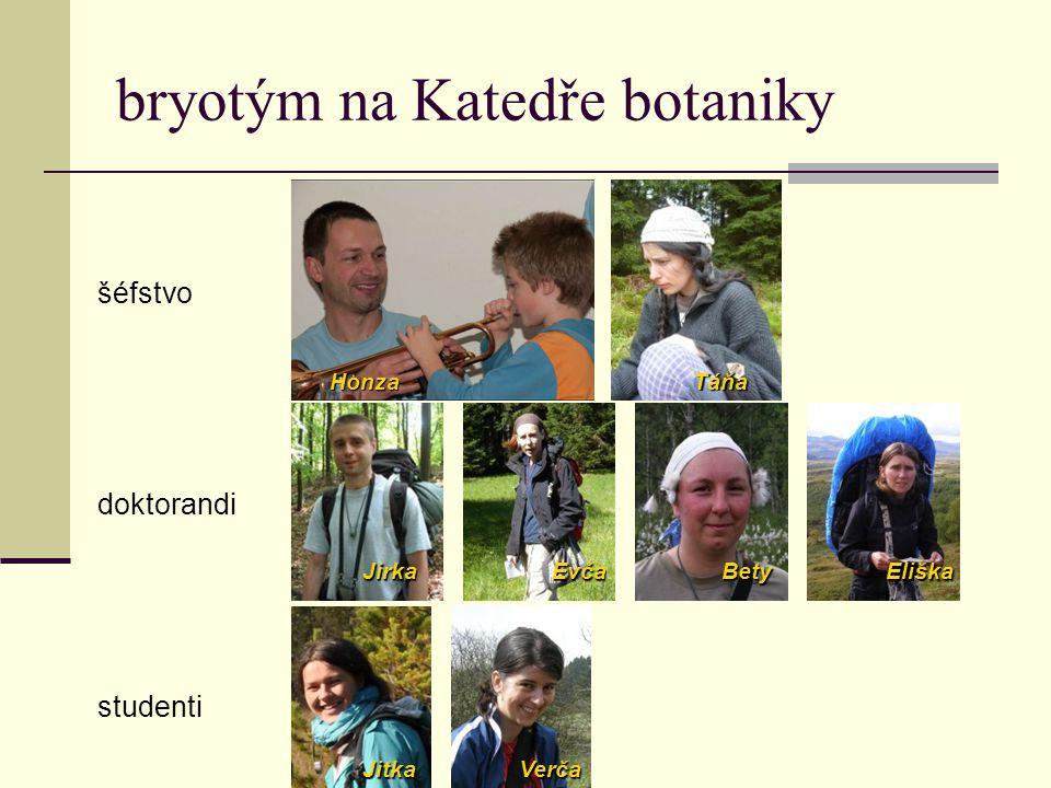 bryotým na Katedře botaniky