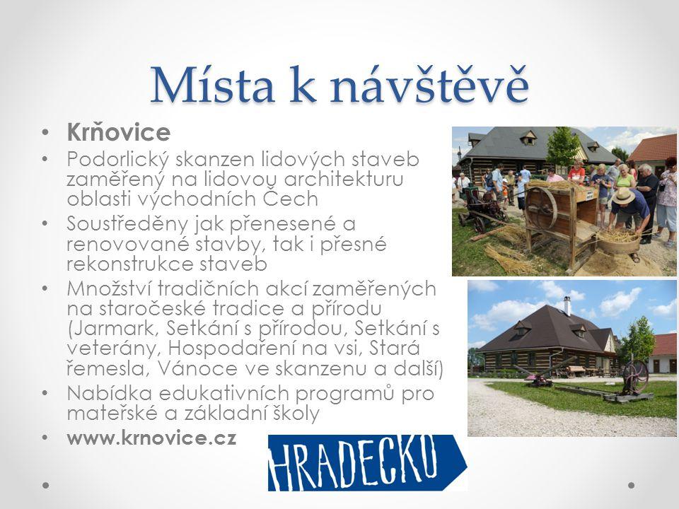Místa k návštěvě Krňovice