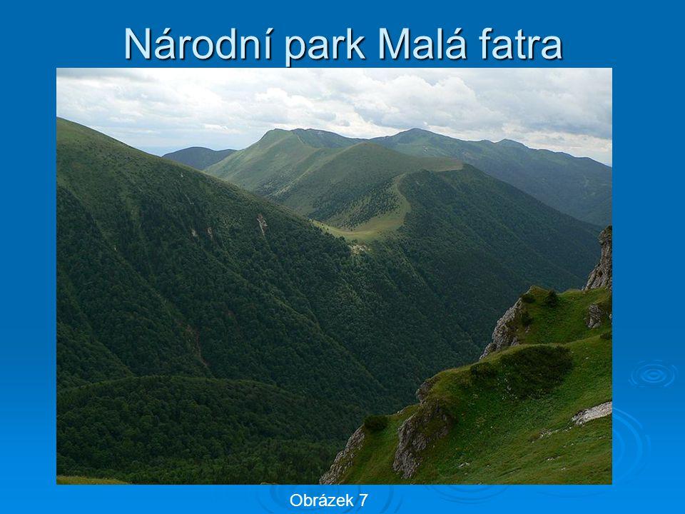Národní park Malá fatra