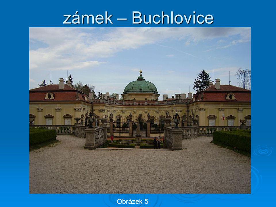 zámek – Buchlovice Obrázek 5