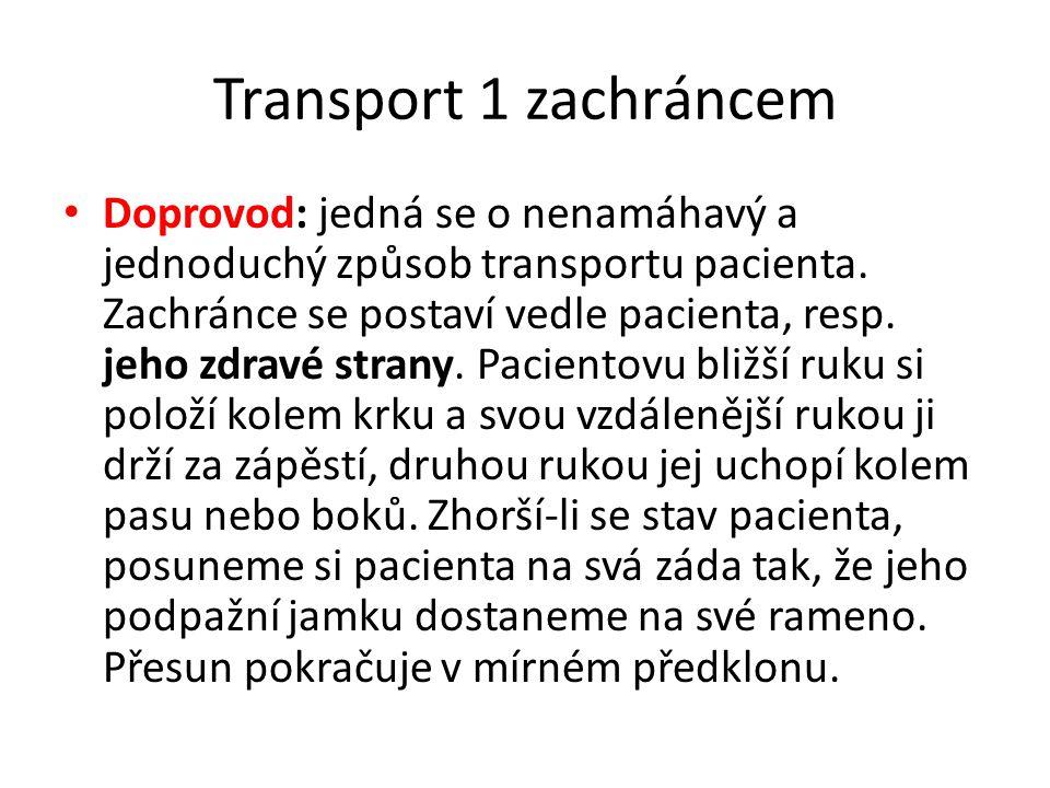 Transport 1 zachráncem