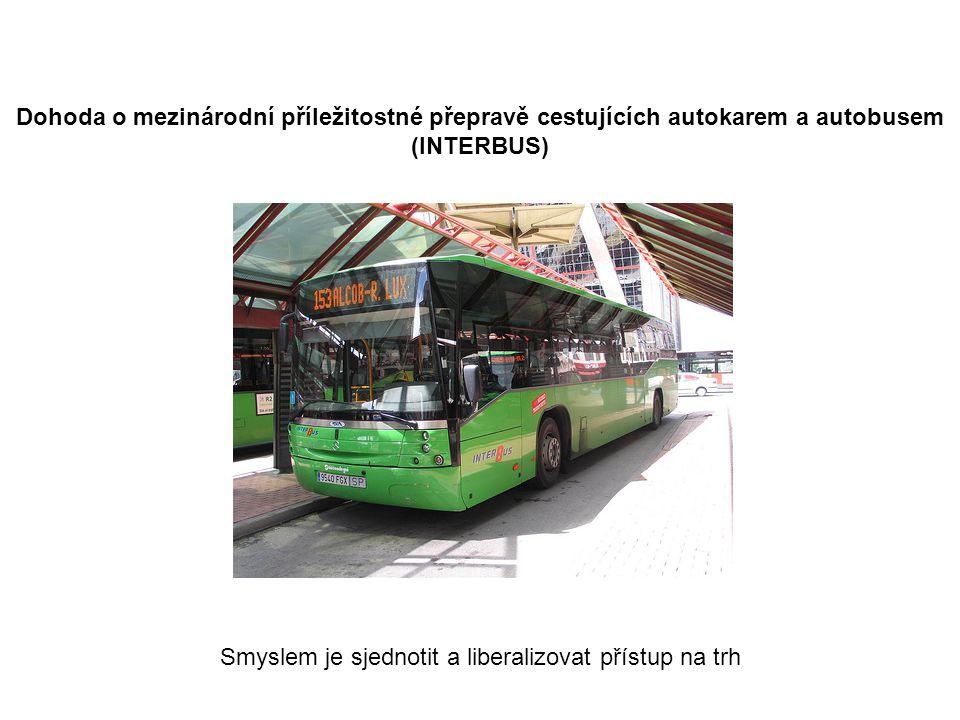 Dohoda o mezinárodní příležitostné přepravě cestujících autokarem a autobusem