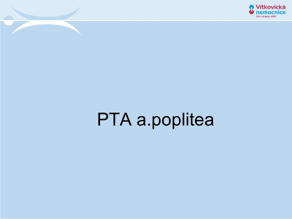 PTA a.poplitea