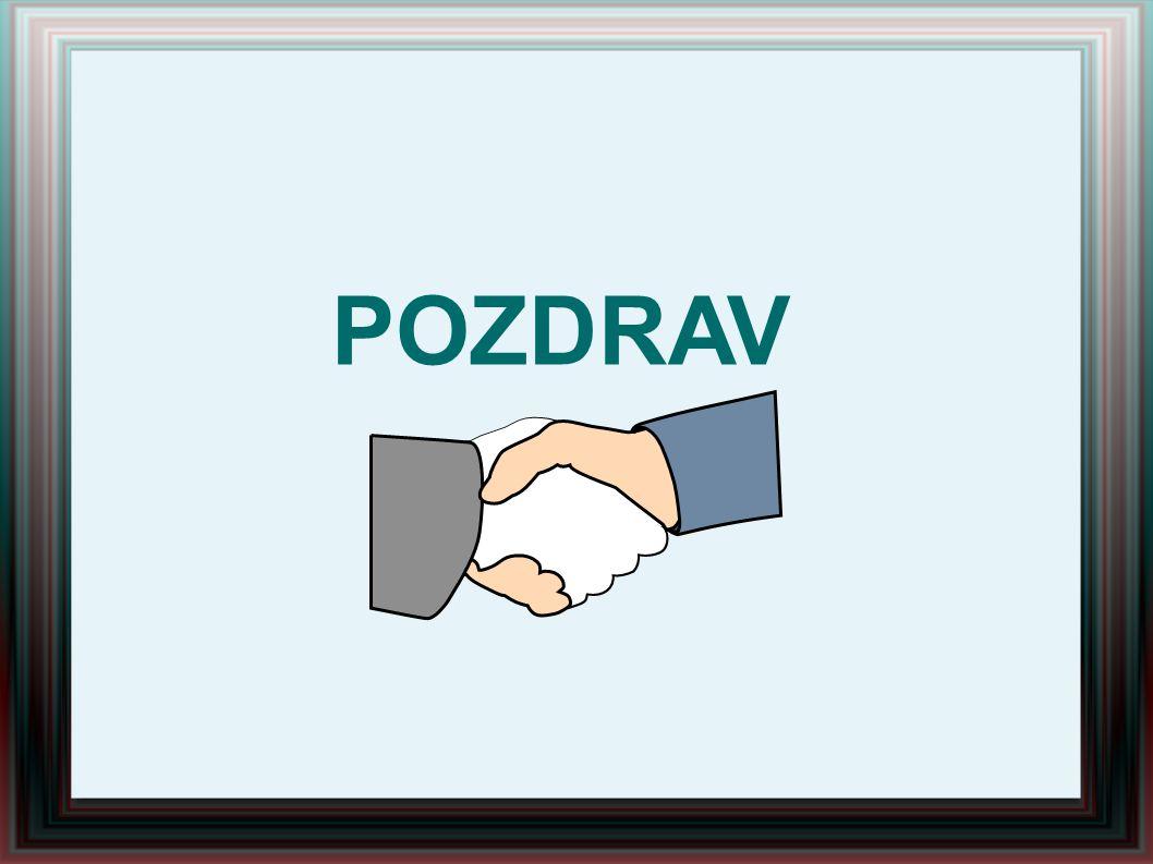 POZDRAV