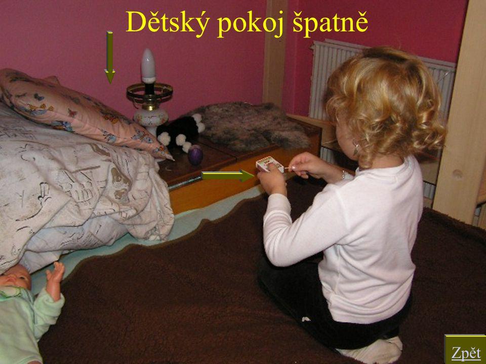 Dětský pokoj špatně Zpět
