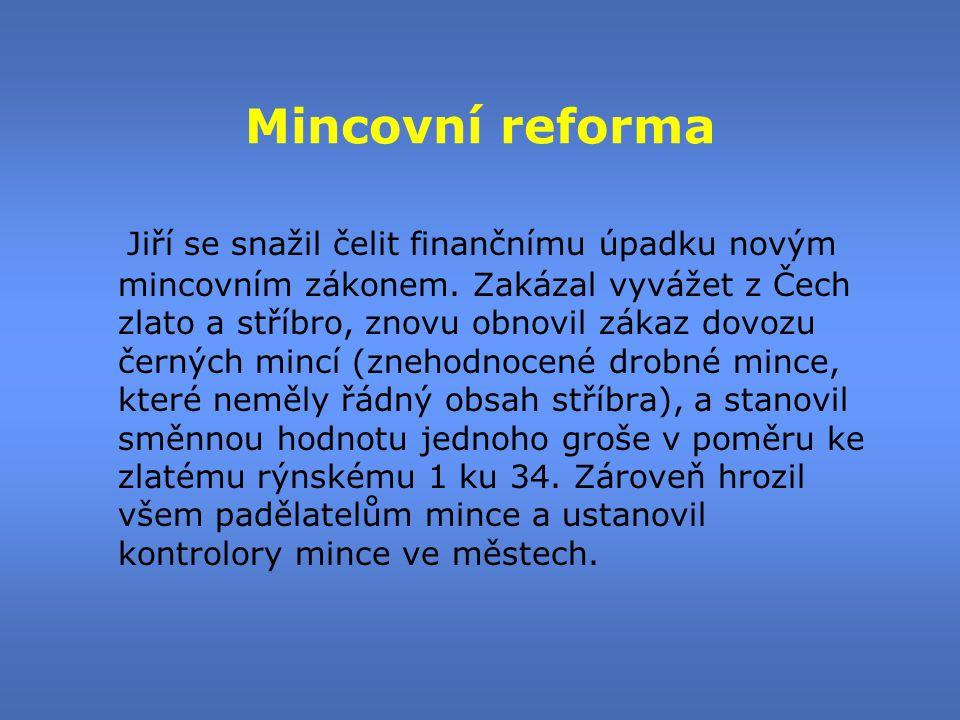 Mincovní reforma
