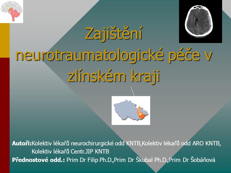 Zajištění neurotraumatologické péče v zlínském kraji