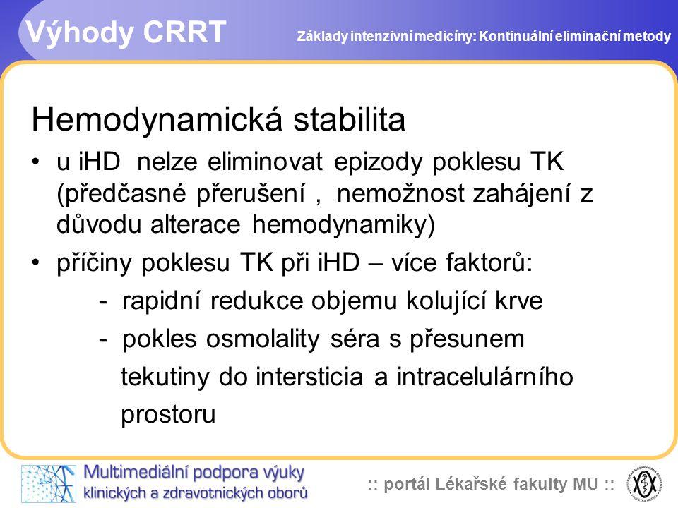 Hemodynamická stabilita