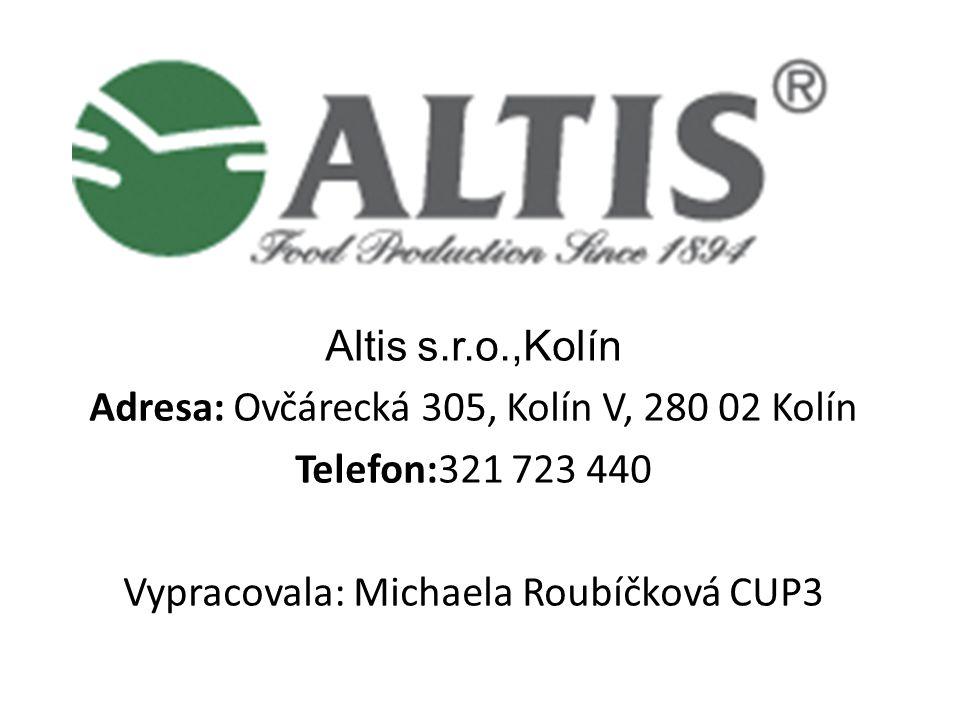 Adresa: Ovčárecká 305, Kolín V, 280 02 Kolín Telefon:321 723 440