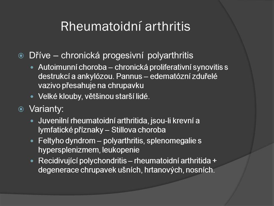 Rheumatoidní arthritis