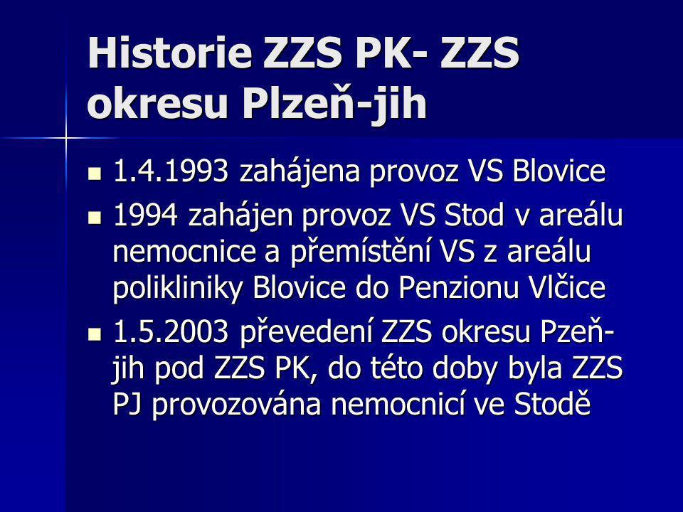 Historie ZZS PK- ZZS okresu Plzeň-jih