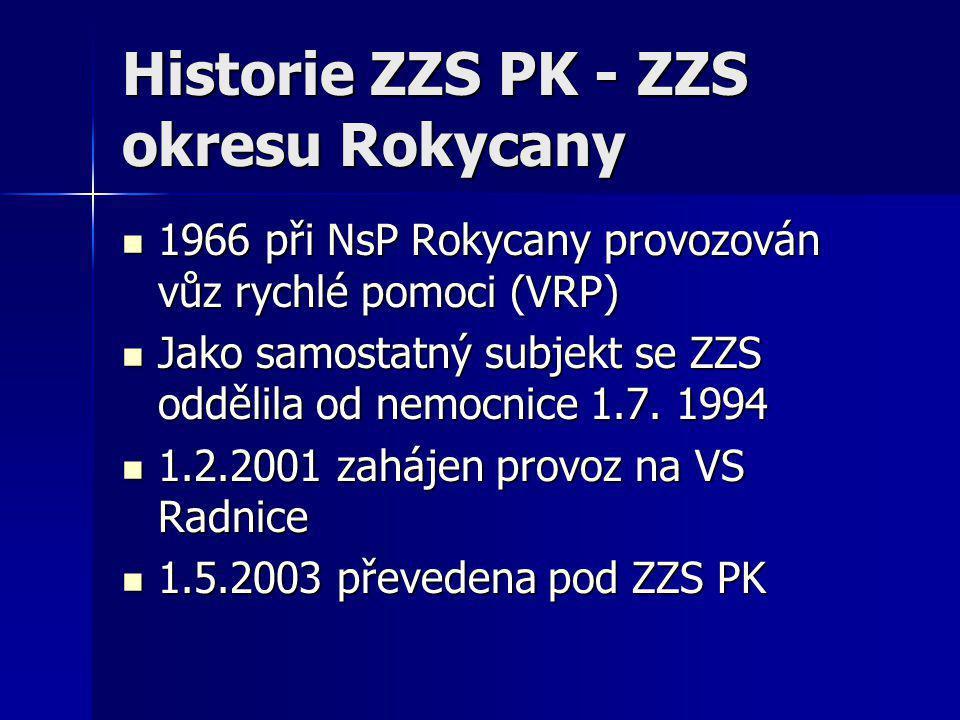 Historie ZZS PK - ZZS okresu Rokycany