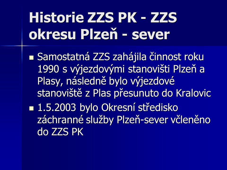 Historie ZZS PK - ZZS okresu Plzeň - sever