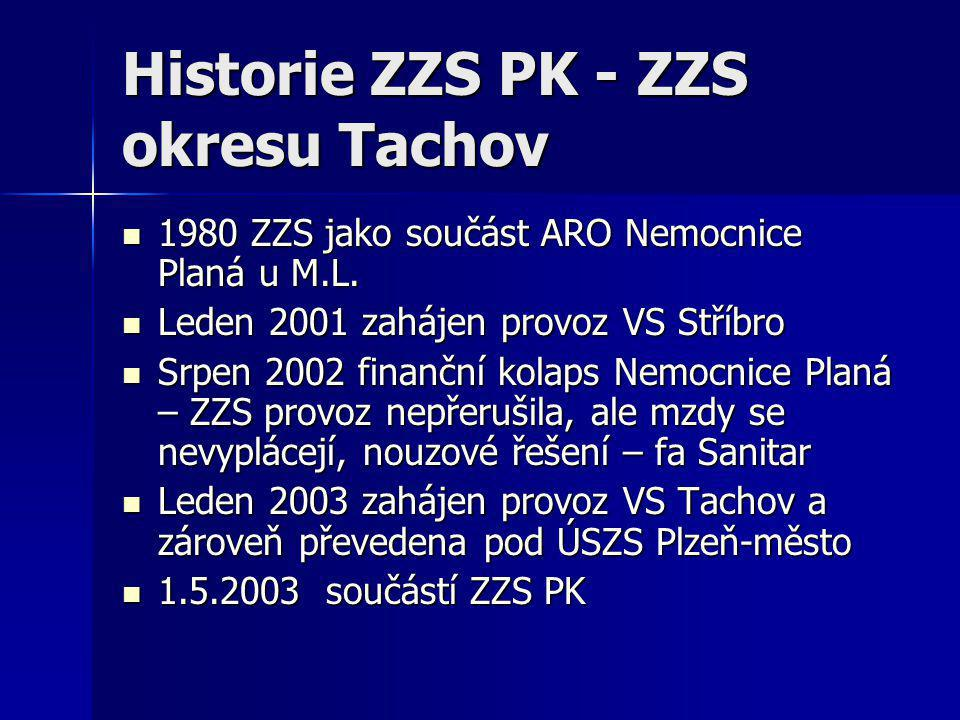 Historie ZZS PK - ZZS okresu Tachov