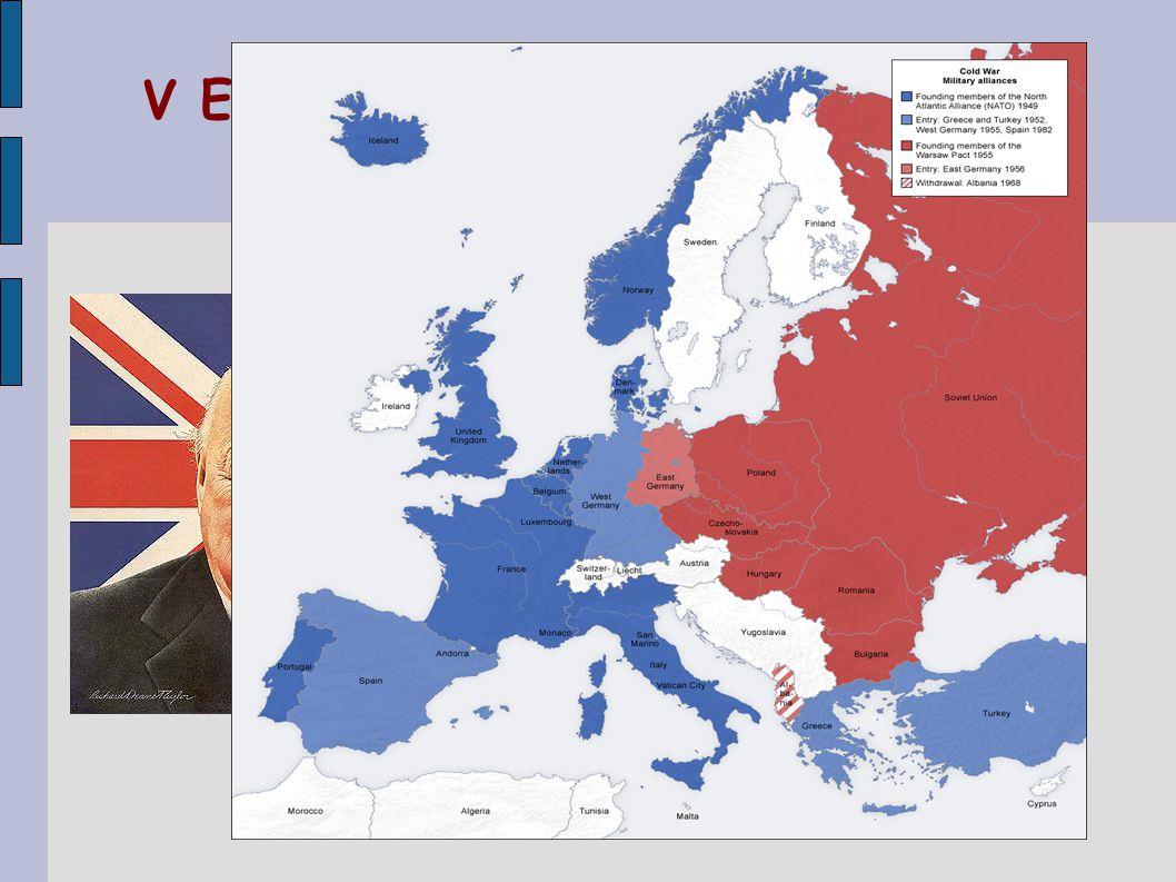 """V Evropě se soupeření projevilo mj. Vznikem """"Železné opony"""