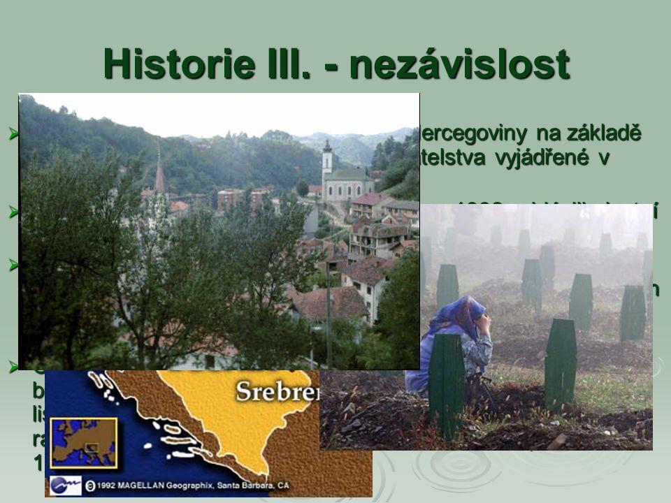 Historie III. - nezávislost