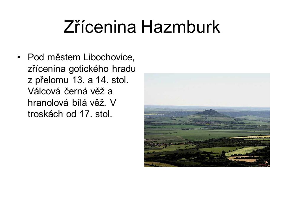 Zřícenina Hazmburk