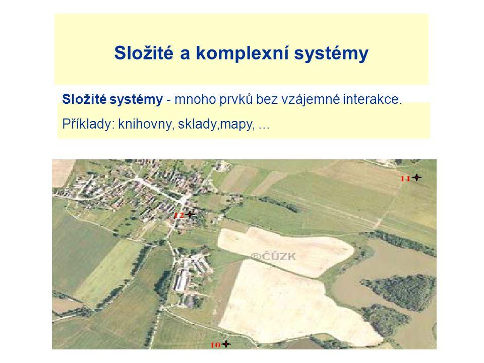 Složité a komplexní systémy