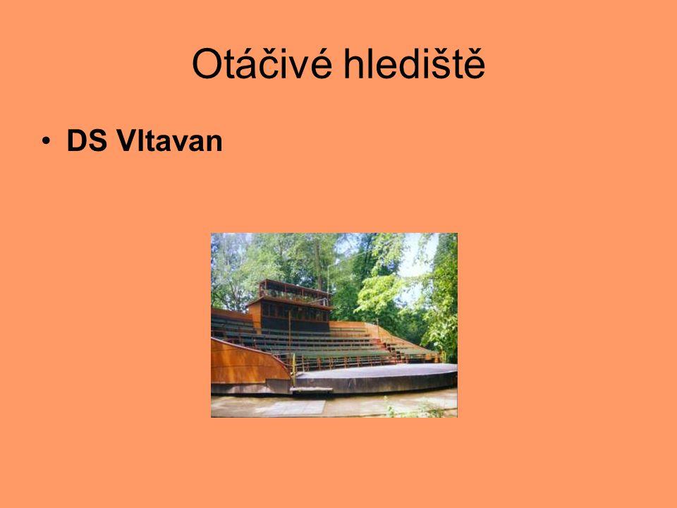 Otáčivé hlediště DS Vltavan