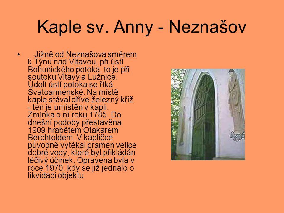 Kaple sv. Anny - Neznašov