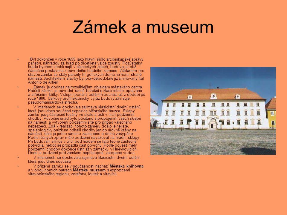 Zámek a museum