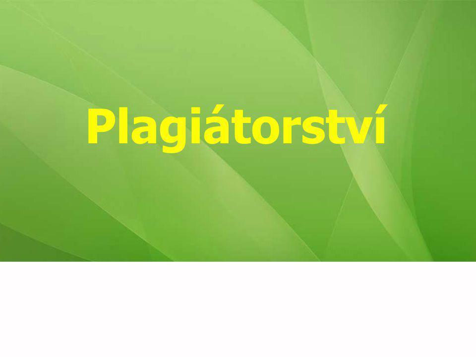 Plagiátorství 32