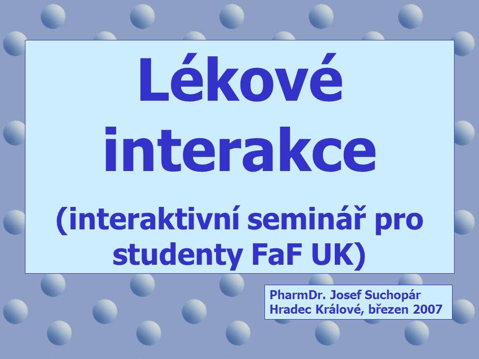 (interaktivní seminář pro studenty FaF UK)